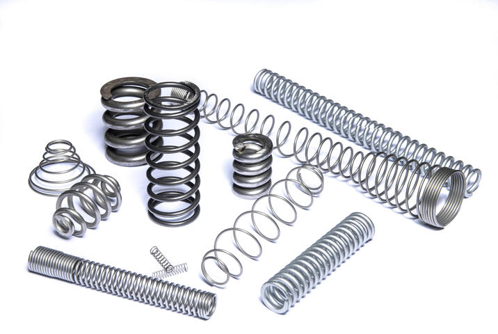 What is a compression spring?