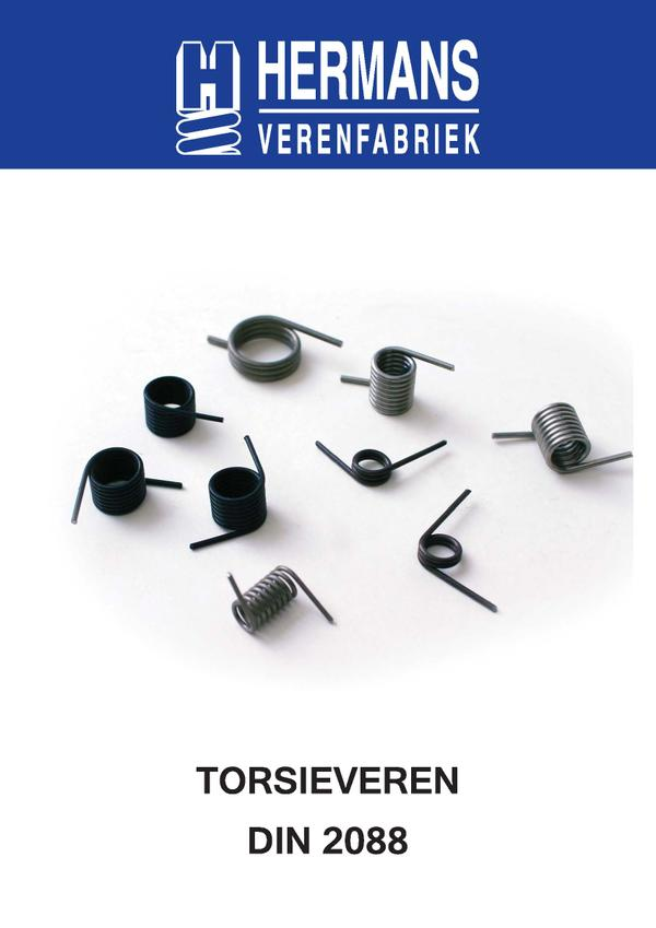 Ressorts de torsion standards DIN 2088